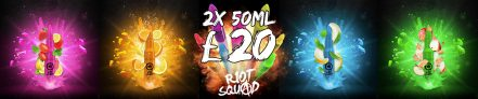 RIOT SQUAD ANY 2 FOR £20