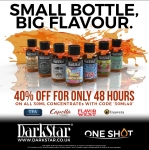 40% OFF AT DARKSTAR VAPOUR!