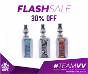 30% OFF VOOPOO DRAG BABY TRIO KIT @ VAMPIRE VAPE