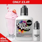 £3.49 for ANY 60ml Shortfill + Free Nic Shots