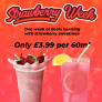 Strawberry Milk AND Strawberry Lemonade – 60MLS ARE BOTH ONLY £3.99 EACH!