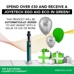 Free eGo AIO ECO With Orders Over £30 At TECC