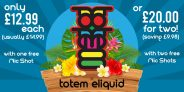 100ml of Totem E-Liquid – £20 with free UK delivery – TABlites