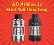 UD Athlon 22 Mini Sub-Ohm Tank – £19.99 with free 10ml juice – TABlites