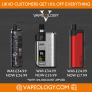 Price Slash With An Extra 10% Everything For UKVD at Vapeology.com