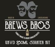 The Brews Bros DIY Starter Kit – Make 750ml of 3mg Eliquid for £35 – Free Postage!