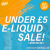EVERYTHING UNDER £5 / HUGE E-LIQUID CLEAR-OUT!