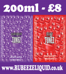 RED TUNEZ & BLACK TUNEZ BUNDLE | 200ML | JUST £8
