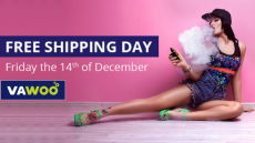 Free Shipping Day 2018 With VAWOO