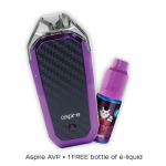 NEW ASPIRE AVP AIO KIT + FREE BOTTLE OF LIQUID!