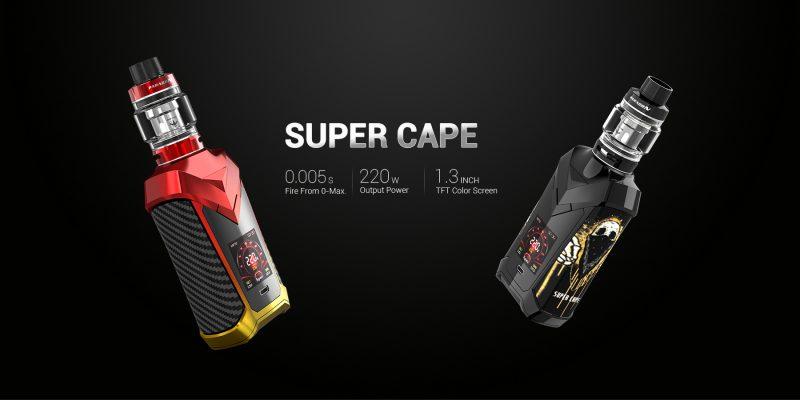 Vaptio Super Cape UK – First Look