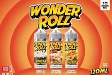Wonder Roll E Liquids – Multipack 3 Bottles 360ml