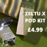 Zeltu X Refillable Pod System – £4.99