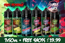 Zombie Juice Mega Deal – 7x50ml for £19.99