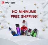 Vaptio Free Shipping With $10 Off!