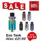 Aspire Cleito Exo Tank – £15.99 at TABlites