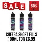 Cheeba 120ml Short Fill – £6.99 at TABlites