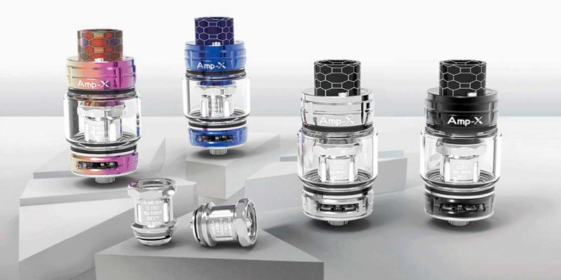 Ample Vape Amp-X Mesh Tank UK First Look