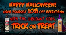 10% off everything for Halloween – TABlites.com