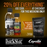 20% off at Darkstar!