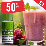 £1 – 50% OFF Juice of the week – Cherries n' Berries