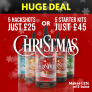 Christmas E-Liquid Bundle – Make 1.25ltrs from £25