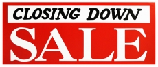 CLOSING DOWN SALE 50% OFF