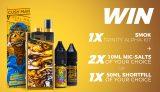 Win a Smok Trinity Alpha Pod Kit + Any 2 Nic Salt E-liquids or 1 50ml Shortfill e-liquid