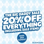 20% Off Everything Including Sale Items! at Ecigwizard.com
