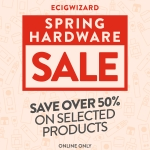 Save Over 50% on Selected Hardware at Ecigwizard