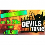 30ml Devils Tonic – ANY 5 for £19.99