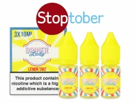 Dinner Lady Lemon Tart Multipack – 3x 10ml for £3.99 – TABlites.com