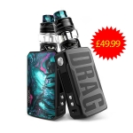 VOOPOO DRAG 2 KIT – £49.99 – ONE OF THE CHEAPEST IN UK