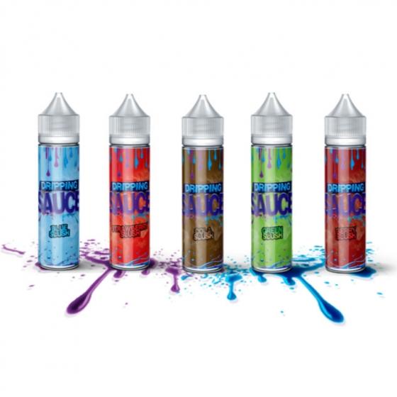 Slush range flavours eLiquid by Dripping Sauce