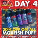20% off all Moreish Puff