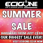 EcigOne Massive Summer Sale