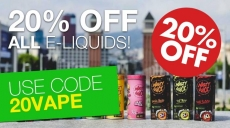 Ecig One Discount Code 20% off all eLiquids