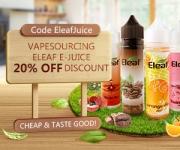 20% OFF eleaf-e-juice 60ml £3.69