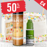 50% OFF – £4 Birthday Cake flavour eLiquid shortfill with free nic shot! Rejuiced