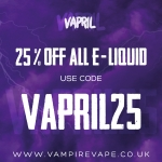 25% OFF 10ML, SHORTFILLS, CONCENTRATES AND NICIT UP!