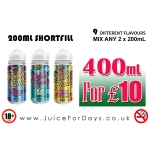 ⚡️ 400ML ELIQUID FOR A TENNER ONLY! ⚡️