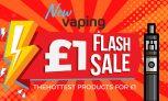 Newvaping £1 Flash sale