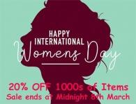 HAPPY INTERNATIONAL WOMENS DAY ⚡️ SALE 20% OFF!