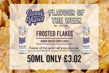 Sweet Vapes Flavour of the Week – Frosted Flakes 50ml Only £3.02