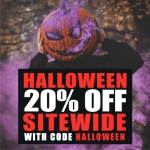 20% OFF Halloween Special