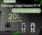 20% OFF Hellvape Dead Rabbit RTA & FREE SHIPPING