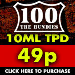 98% Off Hundies TPD Packs – 60ml for 49p