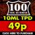 98% Off Hundies TPD Packs – 60ml for 49p