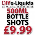 £9.99 – 500ml Bottle Shots and FREE 120ml Gorilla Bottle