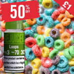 £1 – 50% OFF Juice of the week is Loops!